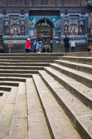 China Temple Steps