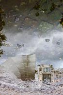 Paris Beaubourg reflection