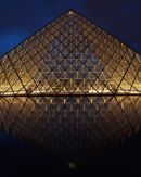 Louvre Evening Reflection