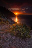 Spain Cabo de Negra Sunrise