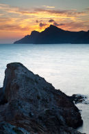 Spain Cabo de Negra Sunset