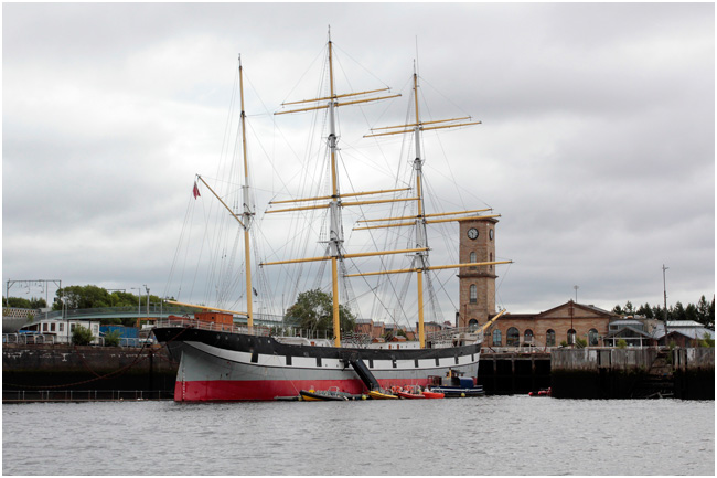 The Tall Ship, Glenlee.