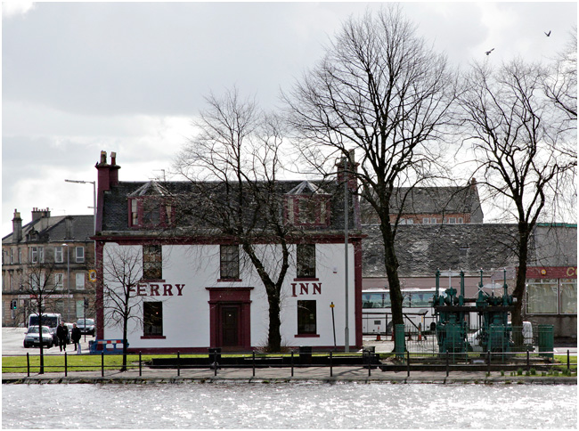 The Ferry Inn at the Renfrew Ferry Crossing.