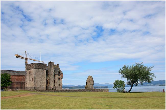 Newark Castle at Port Glasgow.