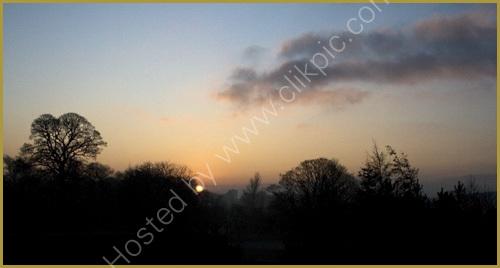 Sunrise over Maryhill