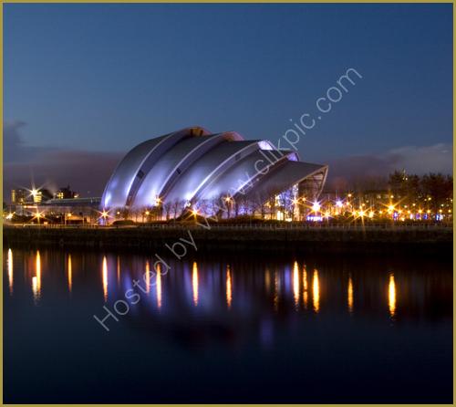Scottish Exhibition and Conference Centre -             the Armadillo