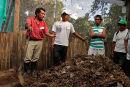 Biogarden composting workshop