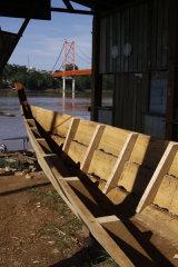 Boat & bridge