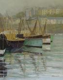 Old fishing boats, Brixham.