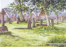 Old Hayward's thro' the churchyard.