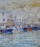 Polperro Harbour.  Cornwall.