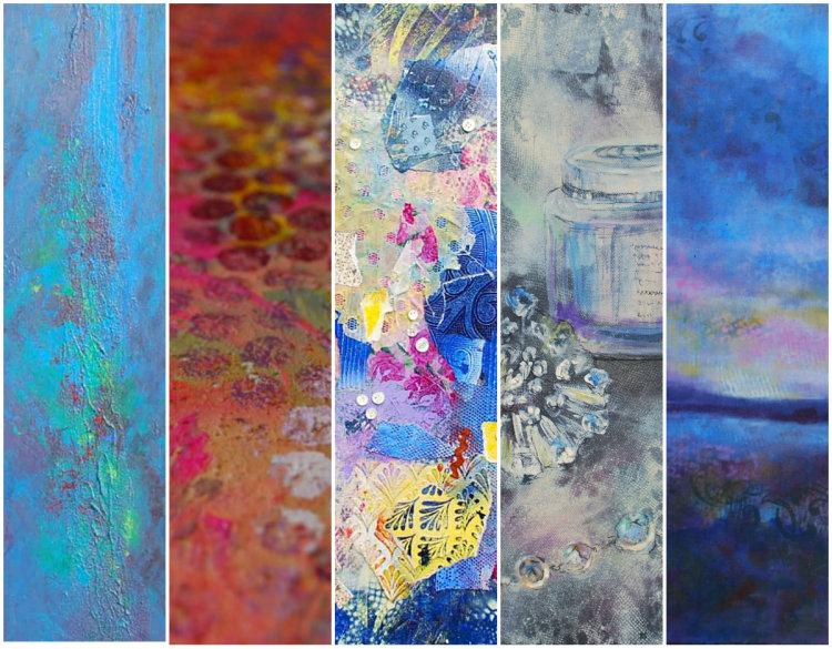 Nicki MacRae collage work cover