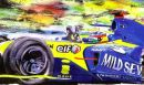 Alonso F1 Champion 2005 (31cm x 21cm)