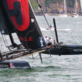 America's Cup Action (Oracle Coutts)