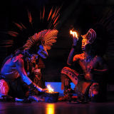 Maya Dance of Fire
