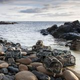 Lobster pots, Priest's Cove