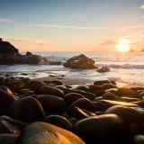Porth Nanven sunset