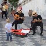 Street musicians, Taormina
