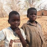 Two boys, Zambia