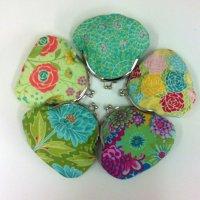 Clasp purses in a range of fabrics