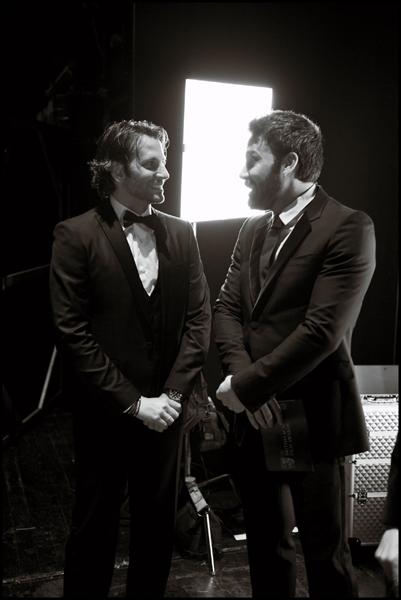 Cooper and Affleck