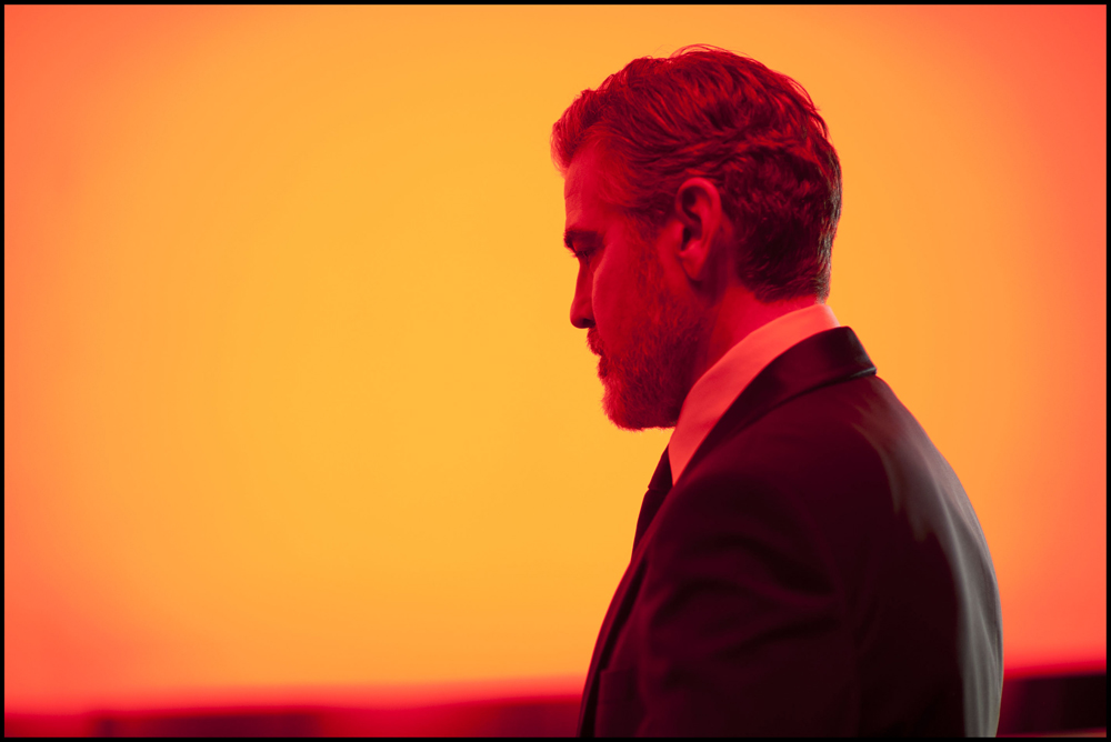 George Clooney orange