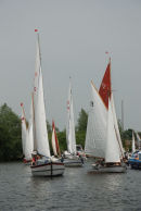Yachts on the River Bure