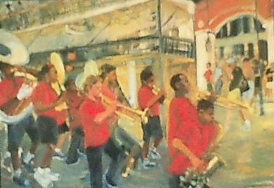 LITTLE RED SCHOOL BAND, NEW ORLEANS