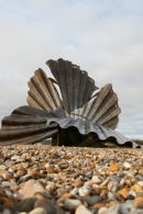 'A Conversation with the Sea' - Scallop Sculpture - Aldeburgh Beach