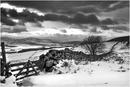 Towards Strachan In The Snow - Scolty Hill