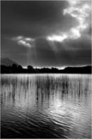 Sun Breaks Through The Clouds - Loch Nan Eilean