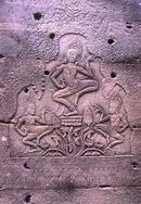 Bas Relief Angkor Cambodia