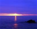 Sunrise at Frenchmans Bay, South Shields, UK