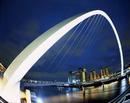 Millenium Bridge Gateshead Uk