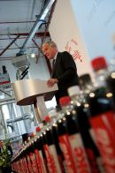 Lord Taylor at Coca-Cola enterprises launch of Continuum recycling Ltd