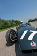 One of Graham Hill's 1962 BRM P57/8 world championship winning cars photographed for LCC County News