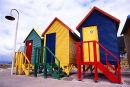 Beach Huts, Cape Town, South Africa