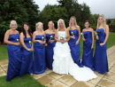 Holly & her Bridesmaids - Beaulieu Road Hotel Wedding