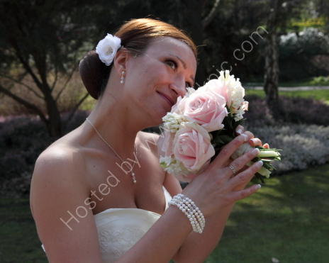 Alex the Bride &amp; Bouquet