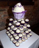 Cake at Lindsey & Pauls Wedding