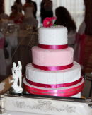 Cake at Kelly &amp; Pauls Wedding