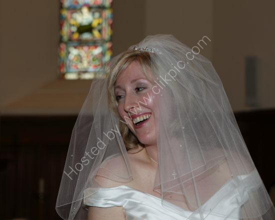 Belinda's wedding at the Burley Manor Hotel