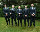 Bridegroom & Ushers - George & Simon's Wedding @ Exbury