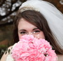 Alice with bouquet - Exbury