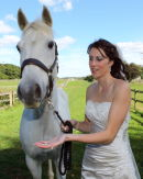 Sarah with her Horse - Damerham