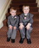 Page boys - from Kelly & Pauls Wedding at the Heathlands Hotel - Bournemouth