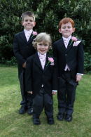 Page Boys - Lara & Jamie's Wedding