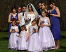 Lisa & Matt - Wedding group at Alverstoke