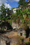 Martinique - St Pierre - Ruins of old Gaol