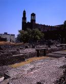 Mexico DF: Plaza de las Tres Culturas